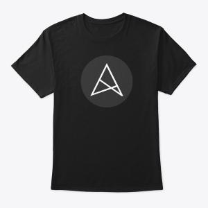Белая/Черная футболка с логотипом ALSTRIVE