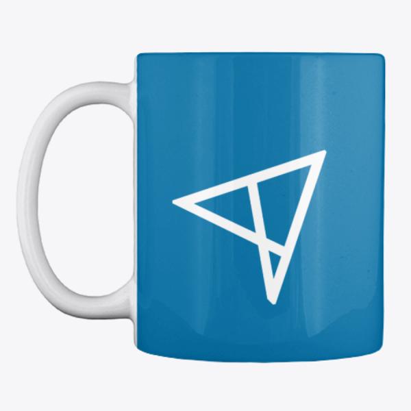 Кружка, центр, повернутый логотип, ALStrive